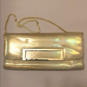 Nine West gold handbag